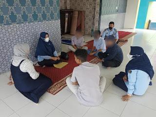 Bapas Ambil Data Litmas Covid Untuk 6 Andikpas LPKA Banda Aceh