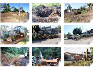 Manutenção de vias urbanas, galerias e estradas rurais de Registro-SP