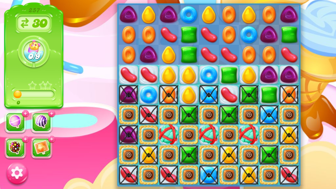 Candy Crush Jelly Saga 257
