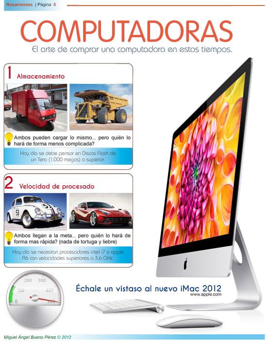 El arte de comprar una computadora en éstos tiempos | Rosarienses, Villa del Rosario