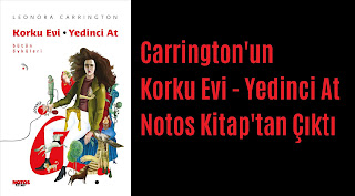 Leonora Carrington, korku evi yedinci kat, notos kitap,