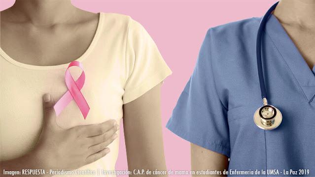 Cancer de mama en estudiantes de enfermería de la UMSA