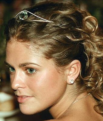 aquamarine bandeau tiara sweden princess madeleine