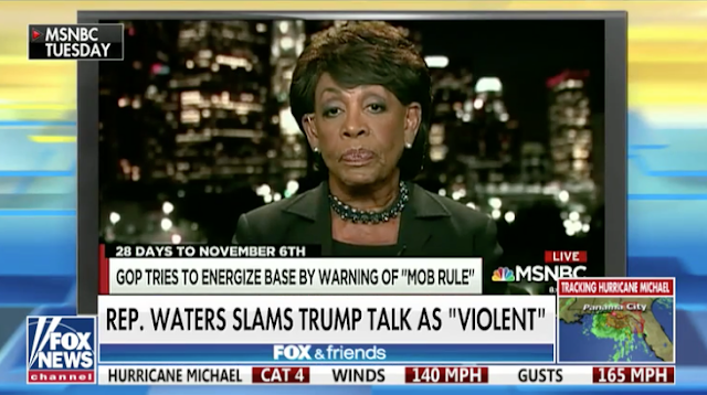 Maxine Waters Blasts Trump for Criticizing Left-Wing Activists: He Is 'Poster Boy' for 'Mob' Protesters