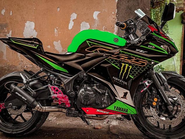 Inspirasi Decal R25 Pakai Decal Kawasaki Racing Team