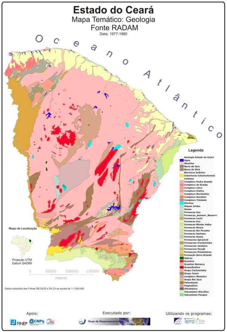 Mapas do Ceará