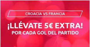 Mondobets promo Croacia vs Francia