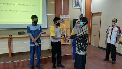 SMK Institut Indonesia Juara 2 LKS CNC Milling tahun 2020 LKS (Lomba Kompetensi Siswa) SMK tahun 2020 tingkat Kabupaten