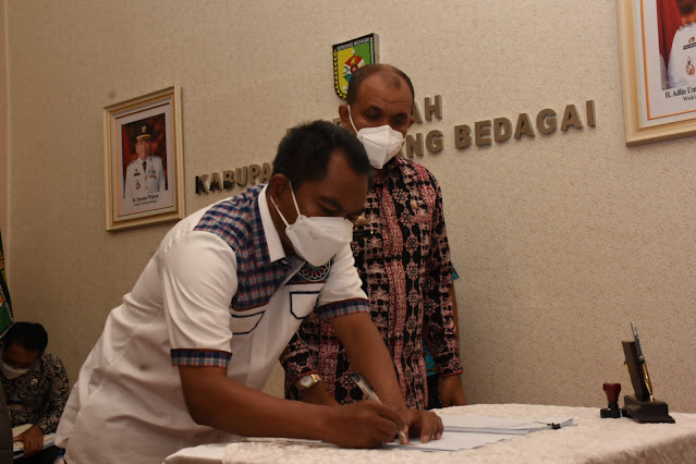 Pemkab Sergai Kerjasama Pemberian Pinjaman Untuk Pemulihan Ekonomi dengan PT SMI