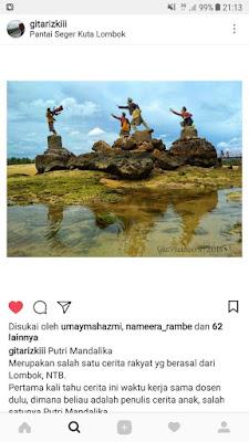 cerita rakyat putri mandalika lombok