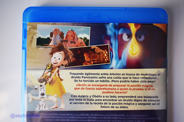 análisis y un reportaje fotográfico de la edición bluray de 'Astérix: El secreto de la poción mágica'