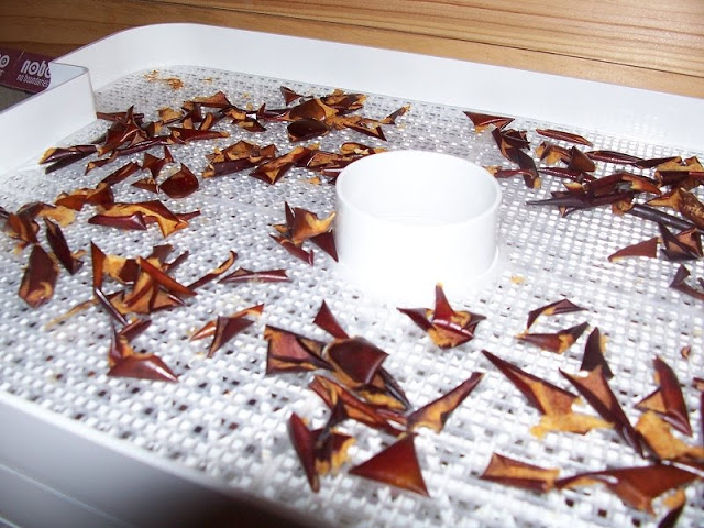 Dry the fruit for DIY stove top potpourri in a dehydrator or oven.