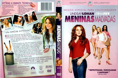 Filme Meninas Malvadas (Mean Girls) DVD Capa