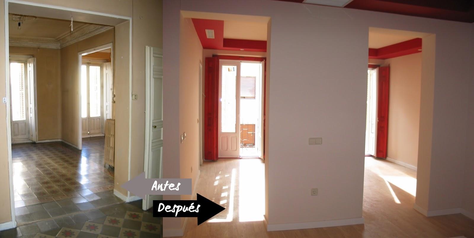 Diariodeco12 antes y despu s the deco soul for Mi piso antes y despues