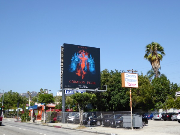 Crimson Peak film billboard