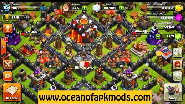 Clash of Clans Gameplay Screenshot