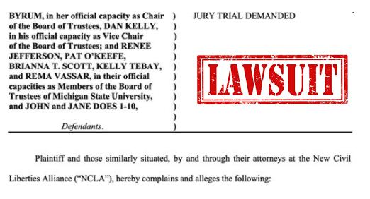 Michigan State University Lawsuit