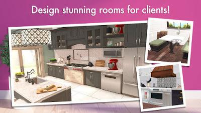 تحميل لعبة تصميم المنازل Home Design Makeover! النسخة الكاملة مهكرة للاندرويد