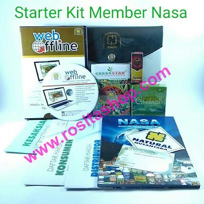 Isi Starter Kit NASA