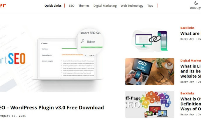 Techney Premium Blogger Template Download