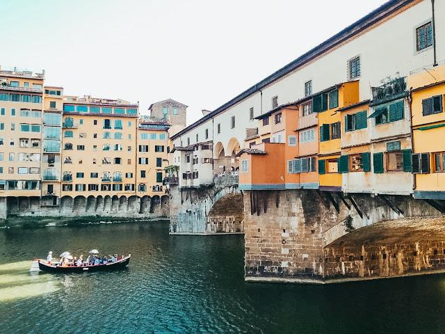 Ponte Vecchio, most złotników, florencja, firenze, florence, italy, włochy