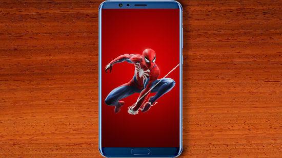 Spider Man Sur Playstation 4 Rouge - QHD pour Mobile