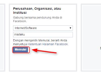 Cara membuat halaman facebook untuk blog