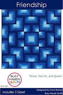 Friendship Quilt Pattern by Myra Barnes of Busy Hands Quilts