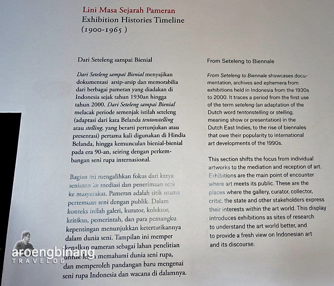 lini masa sejarah museum macan modern and contemporary art in nusantara jakarta barat