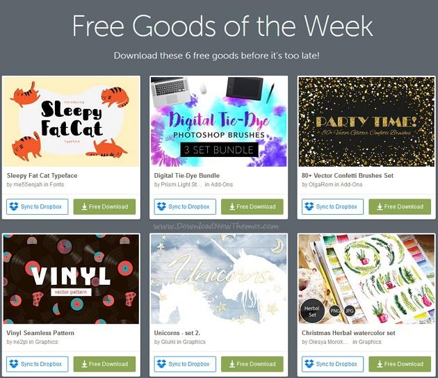 Freebies of the week download now!