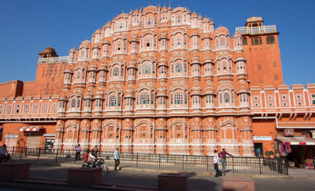 Hawa Mahal Tourist Attraction Place Jaipur Rajasthan