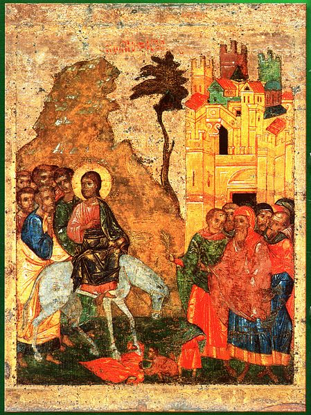 Icon of the Entry into Jerusalem