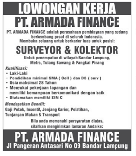 LOGO PT. ARMADA FINANCE