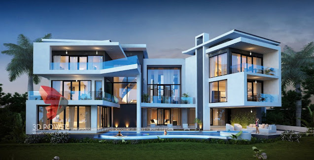 Exterior Designing service, given by 3d power