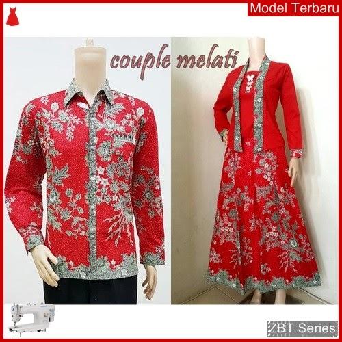 ZBT14409 Kebaya Batik Couple Melati Cow Panjang BMGShop