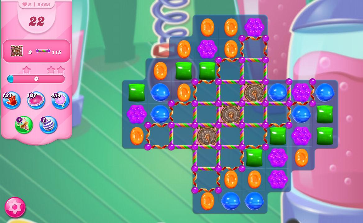 Candy Crush Saga level 5469