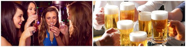 salida de copas para despedidas de soltero