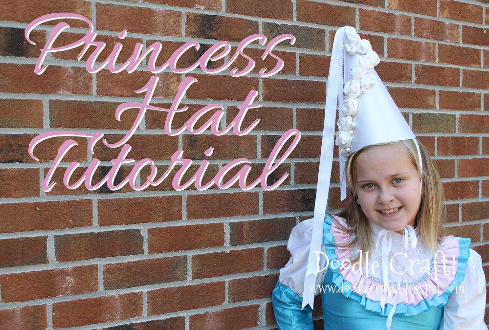 Doodlecraft Princess Hennin Hat Tutorial Diy