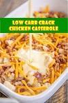 #Low #Carb #Crack #Chicken #Casserole