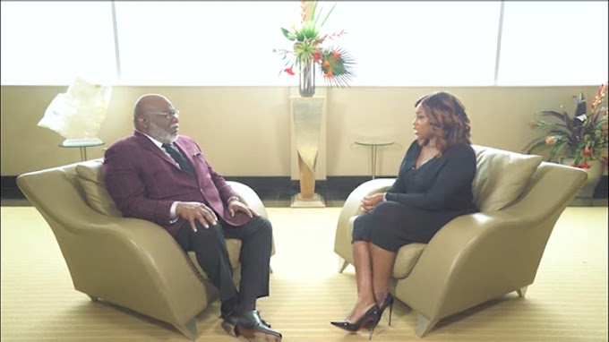 "Watch: Bishop TD Jakes on ""My Worst Day with Peace Hyde""."