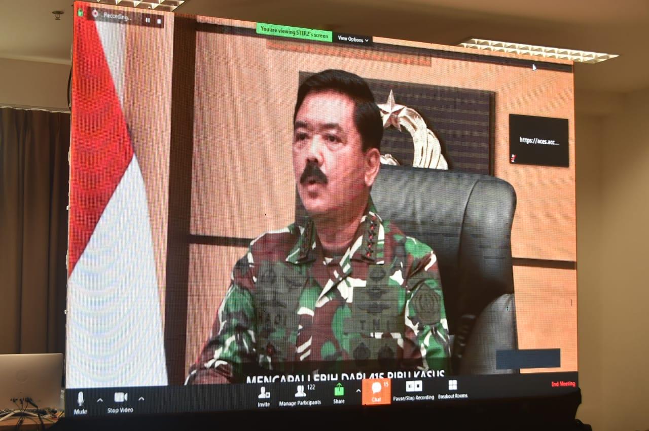 Panglima TNI: Penanganan Pandemik Covid-19 di Indonesia Bergerak Ke Arah Yang Lebih Baik