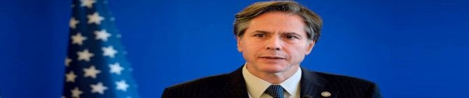 US Secretary of State Blinken To Visit Israel, West Bank On May 26-27, Source Says