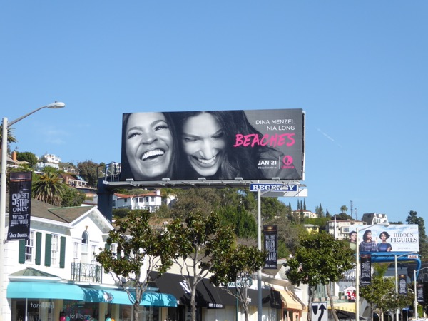 Beaches Lifetime movie billboard