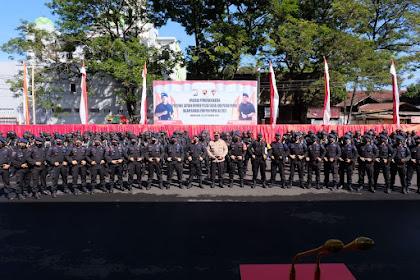 201 Personil Brimob Sulsel Bantu Pengamanan PON XX Papua