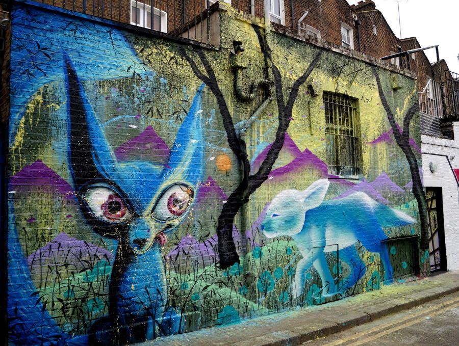 London murals