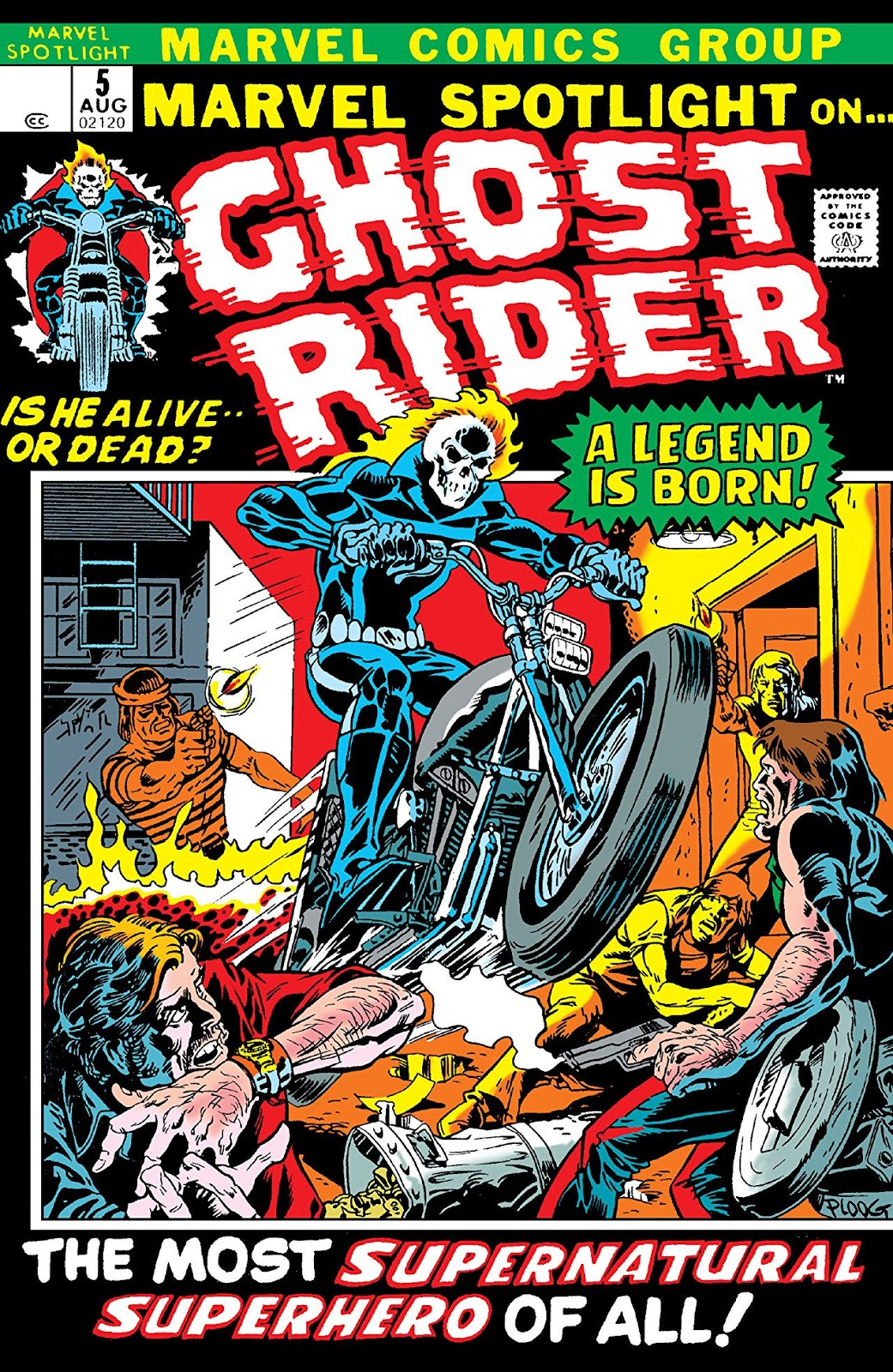 The Marvel Comics Guide: GHOST RIDER READING ORDER: Johnny Blaze (1972-1985)