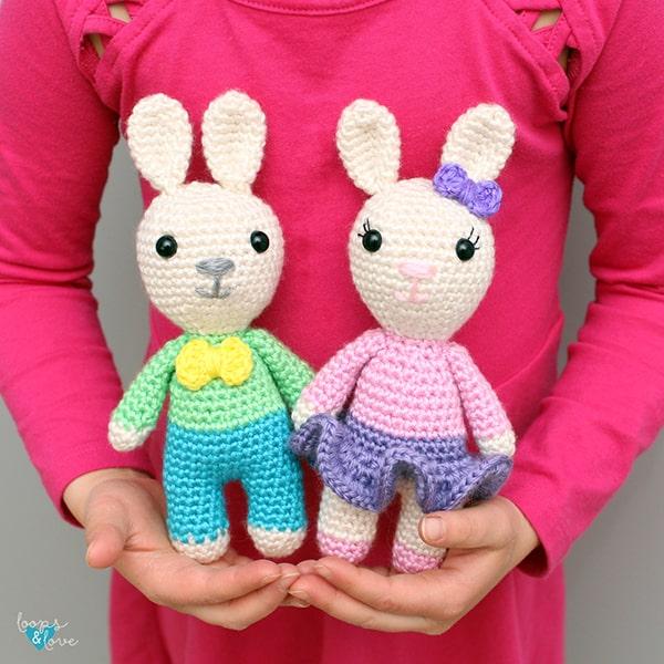 Amigurumi Bunny Dotty❤❤❤... - Tiny Mini Design | Facebook | 600x600