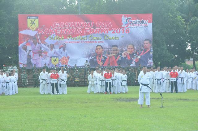 Panglima TNI : Karate Membentuk Jiwa Ksatria