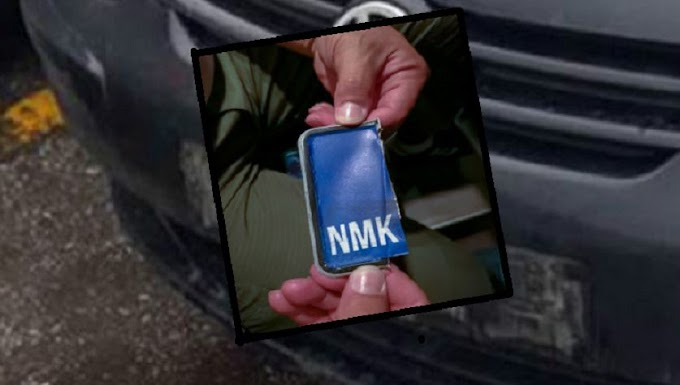 ΜΠΡΑΒΟ ΡΕ ΜΑΓΚΕΣ... Ξήλωσαν τις πινακίδες από αυτοκίνητο Σκοπιανού και δείτε τι βρήκαν από κάτω...!!!