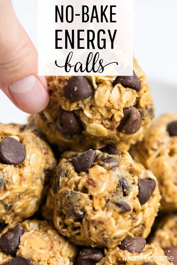 NO-BAKE ENERGY BALLS #recipes #healthyfoodrecipes #food #foodporn #healthy #yummy #instafood #foodie #delicious #dinner #breakfast #dessert #lunch #vegan #cake #eatclean #homemade #diet #healthyfood #cleaneating #foodstagram